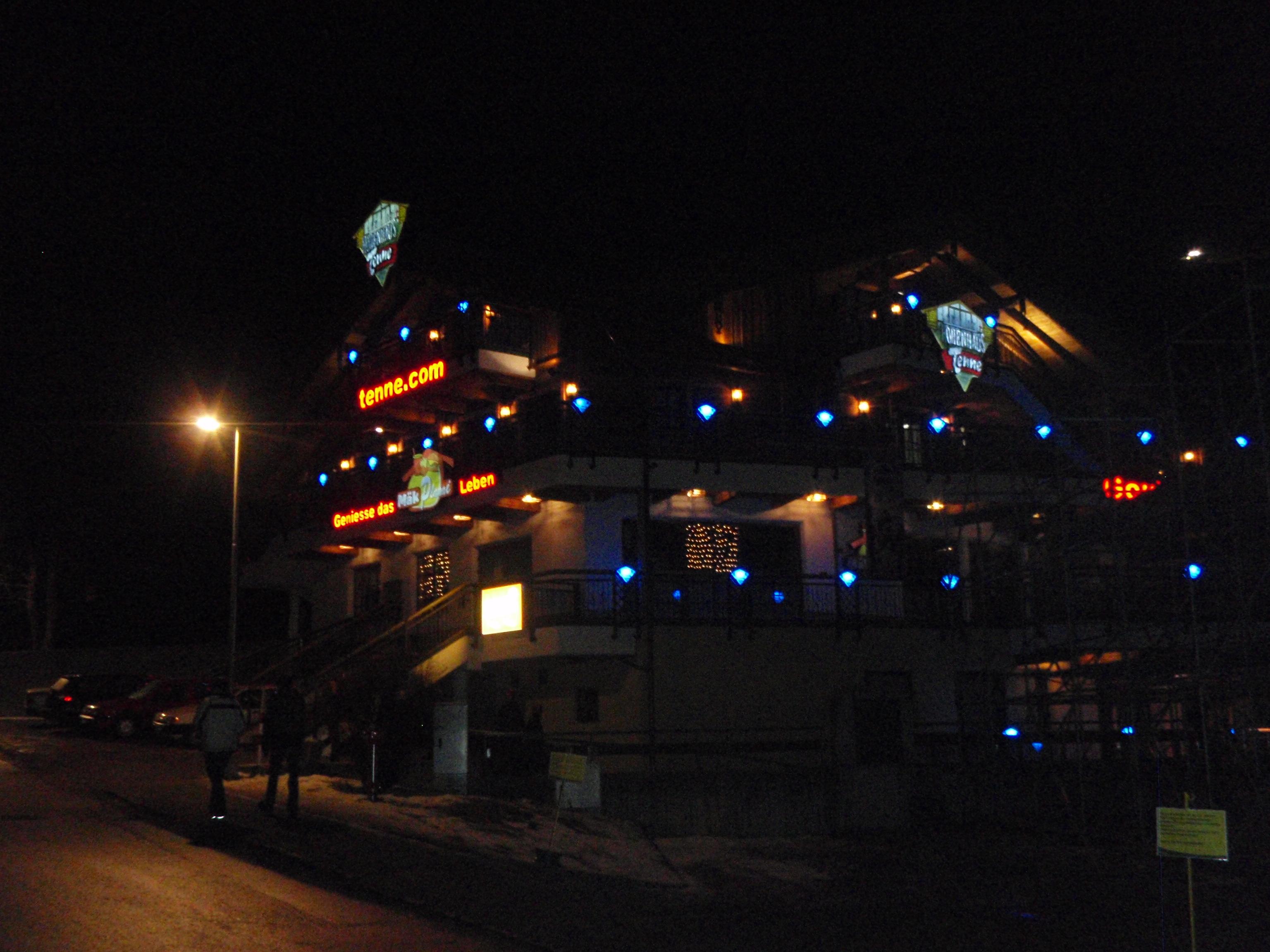 Der Apres Ski Tempel in Schladming: Hohenhaustenne